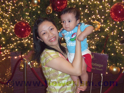 Budiman and mommy