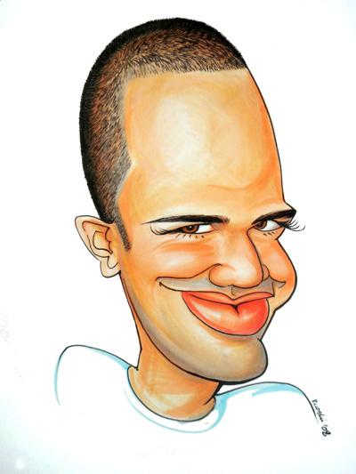 my drawing of Bert